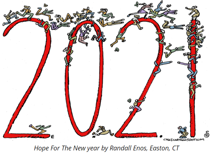 Vignetta Hope for the New Year