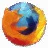 100个透明三角形拼成的Firefox