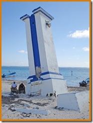 Le Vieux Phare de Puerto Morelos