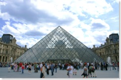 Louvre - az üvegpiramis