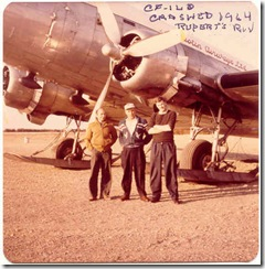 DC-3 CF-ILQ before crash