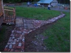 06-22-07 Brick front path 002